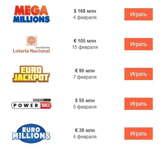 """Europeisk lotteri & quot; eurojackpot"""" - hvordan kjøpe billett fra Russland"""