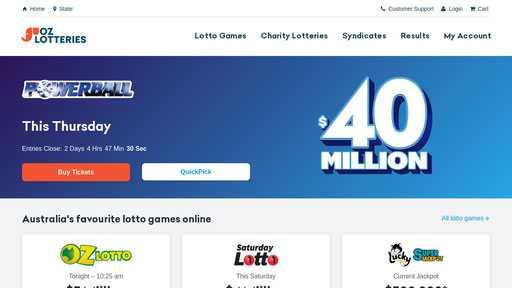 Сайт ozlotteries.com - онлайн сео / seo проверка анализ аудит сайта ozlotteries.com | портал whois.uanic.name