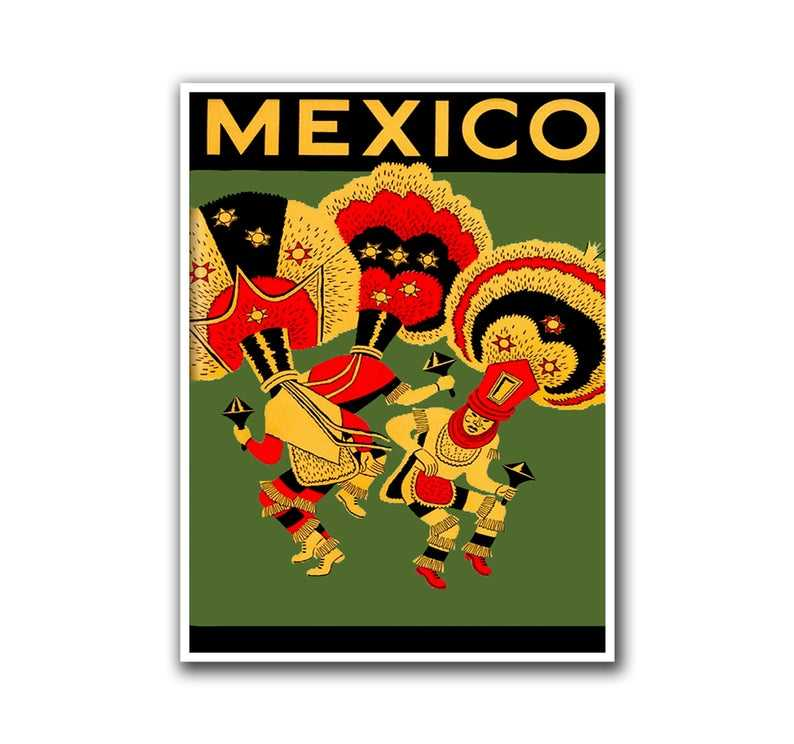 Mexico melat retro matrise