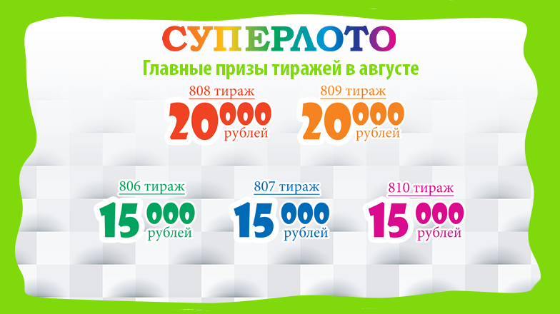 Super Lotto - Super lotto with high winning odds