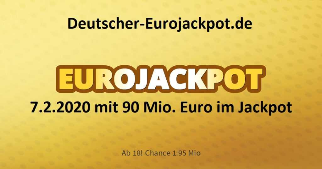 Eurojackpot zahlen, gewinnzahlen & quoten