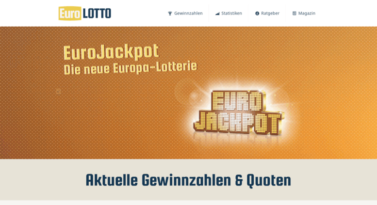 Eurojackpot gewinnzahlen