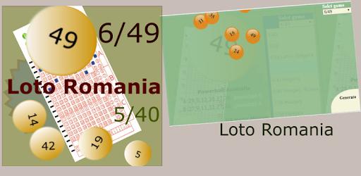 Gráficos de loteria 6din49 da Romênia