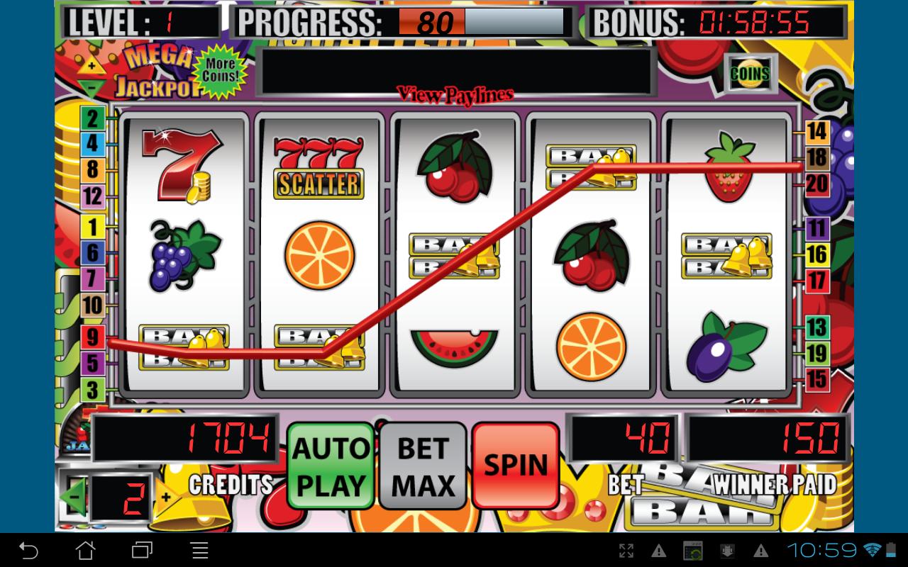 Jackpot or big casino win