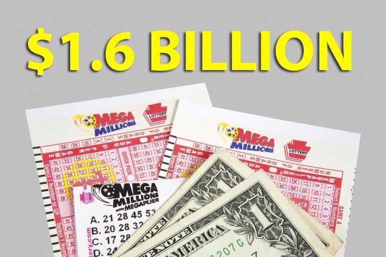 Hvad er oddsene for at vinde to amerikanske megamillioner og powerball-lotterier på samme tid?