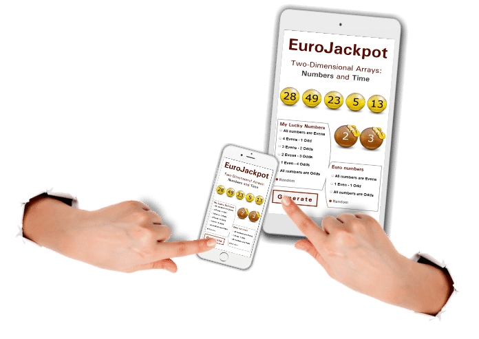 Generátor čísel Eurojackpot