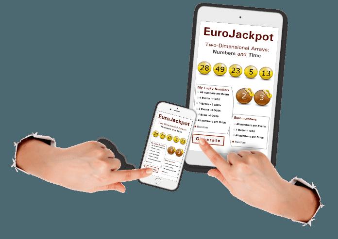 Générateur de numéros Eurojackpot