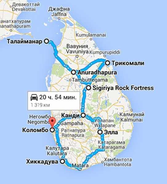Viisumi Sri Lankalle