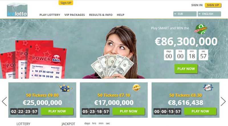 Islanti - alkuun 10 paras online-lotto