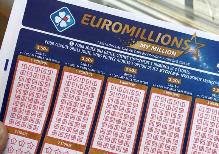 إحصاءات Euromillions