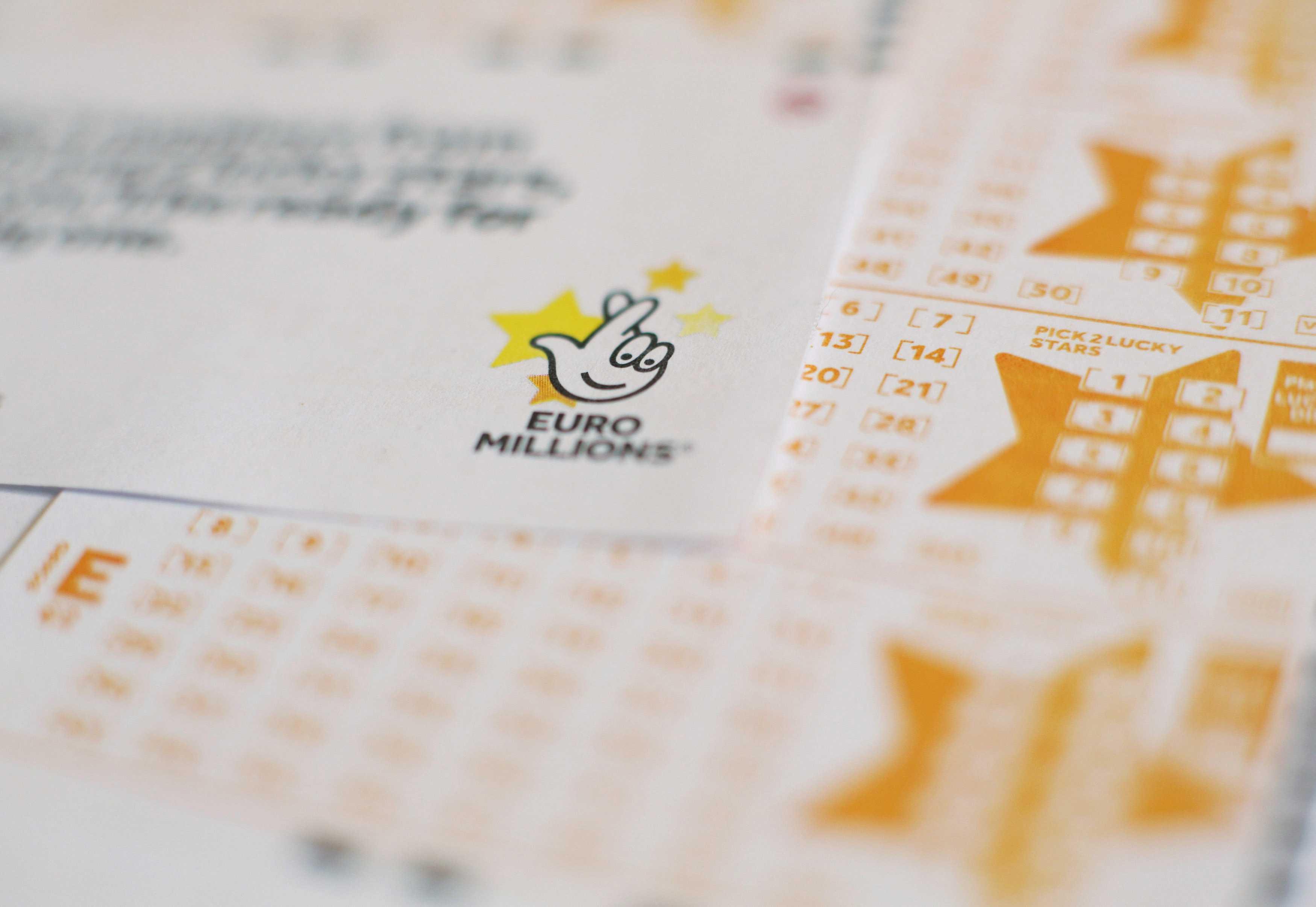 Euromillions-palkinnot & palkintorahojen jakaminen