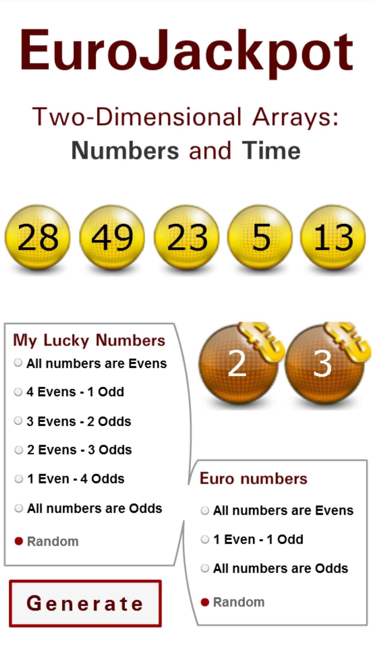 Euro jackpot vorhersage durch analyse vergangener ziehungen