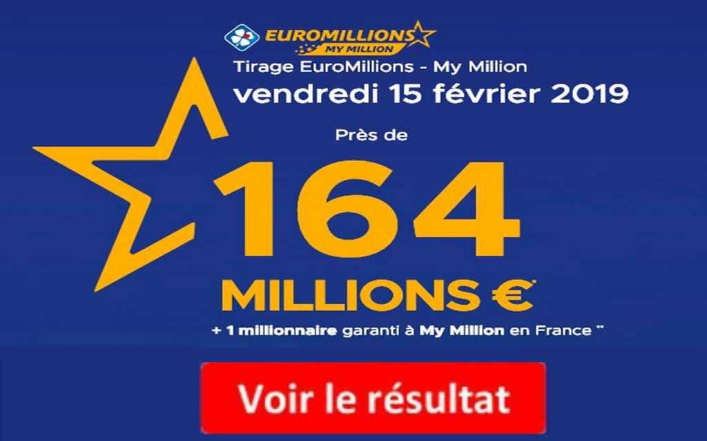 Euromillions - trekke resultater