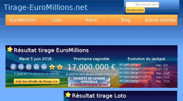 Euromillions-tilastot | stats d'euro arpajaiset | euro-millions.com
