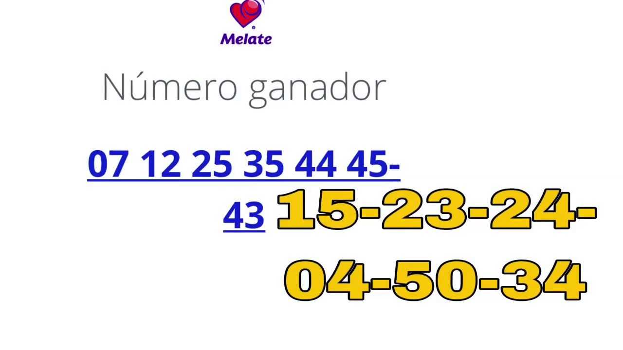 Mexico melate retro number generator