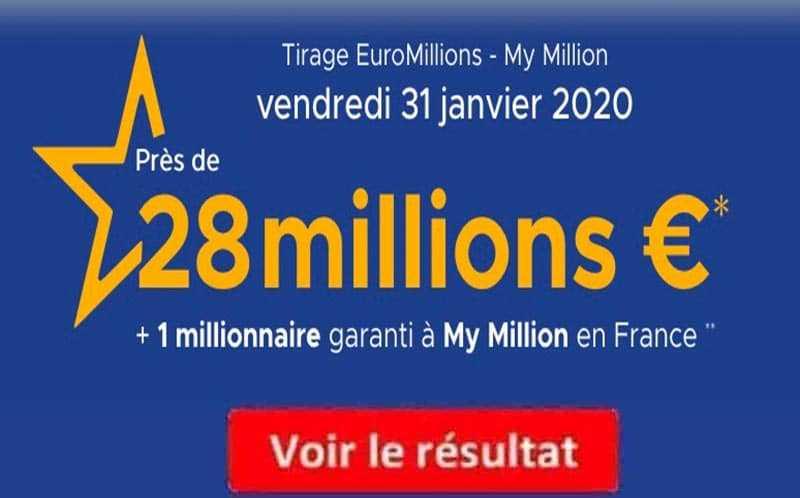 Euromillions : tegne, time, resultat, statistikk... comment jouer ?