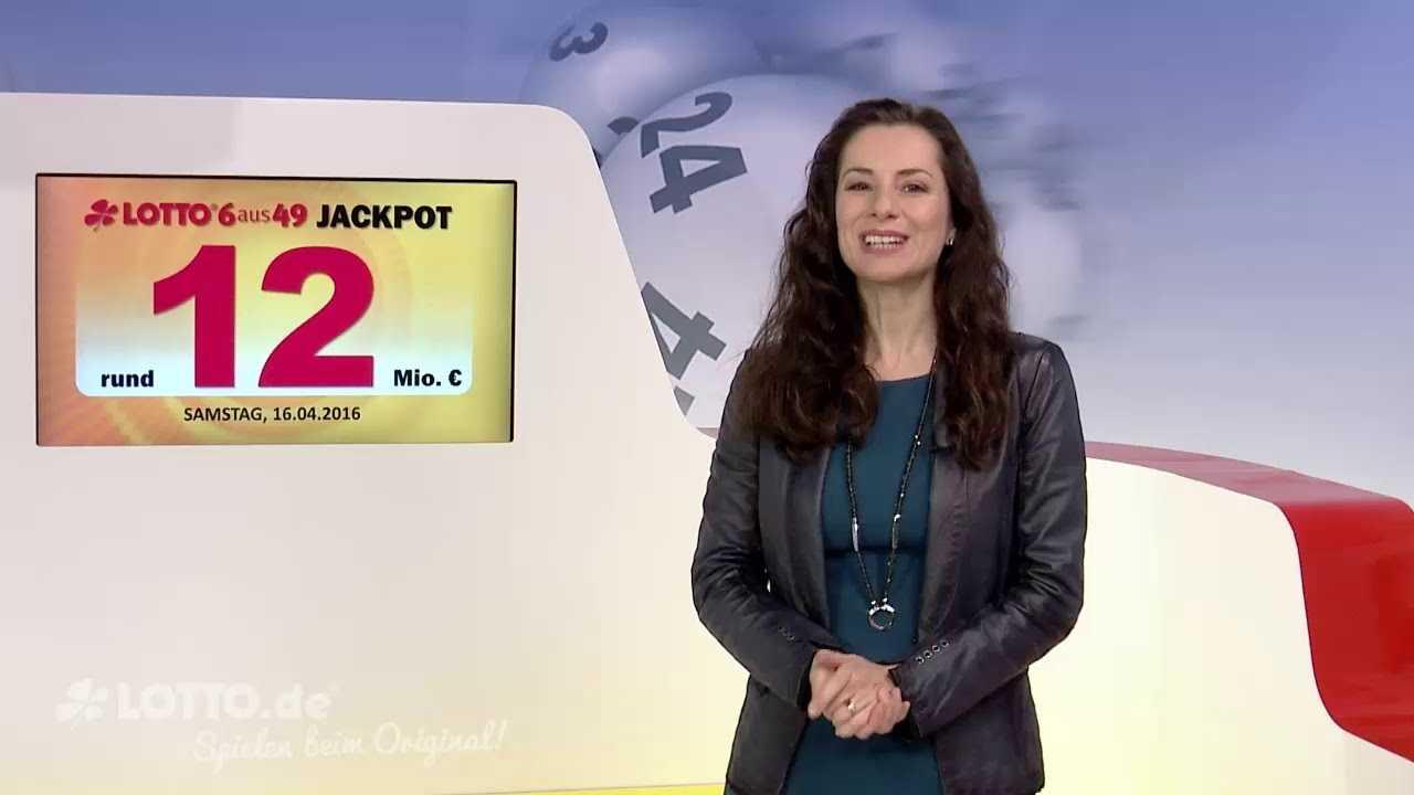 Lotto 6 ud 49 på lørdag: jackpotten i weekenden