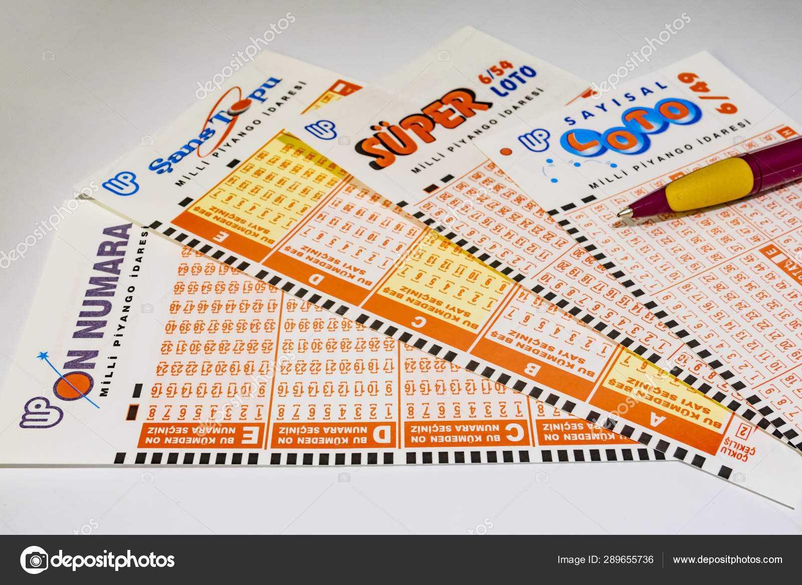 Турция : лотерейные билеты [1/189]