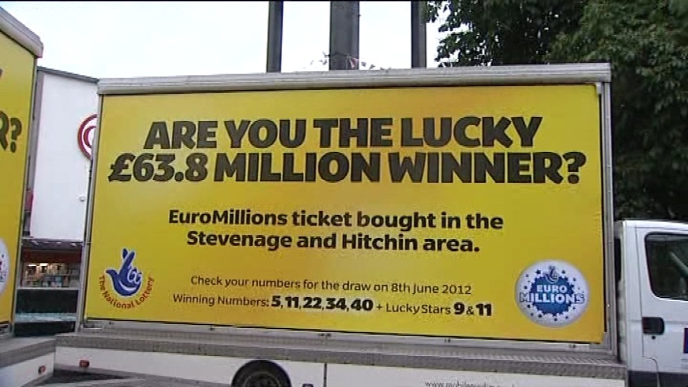 Picking lottery numbers