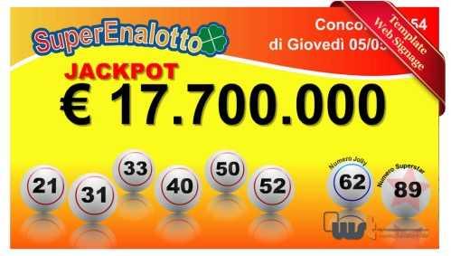 Italian superenalotto | italian lottery | play online