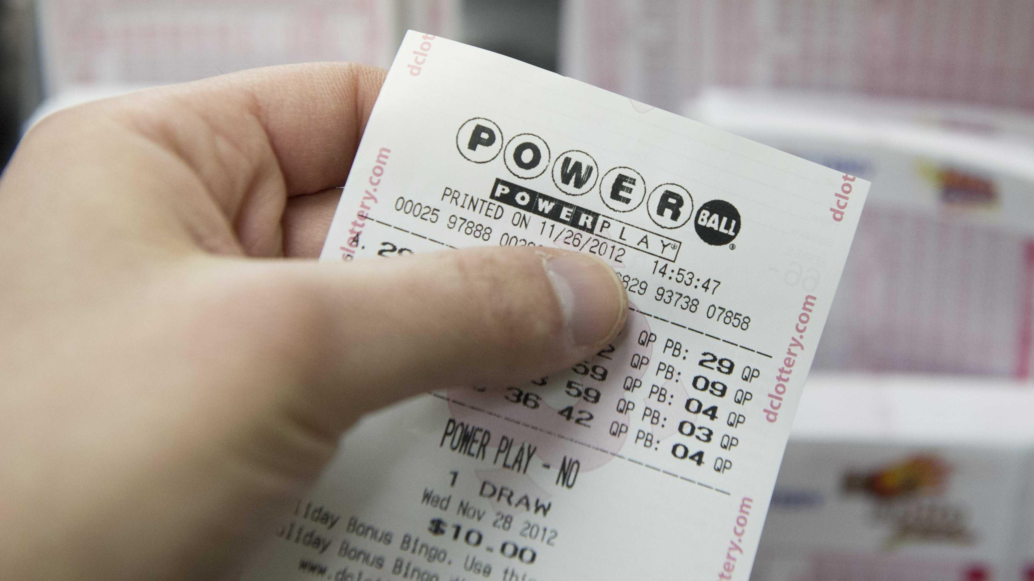 Налог на выигрыш в лотерею в сша