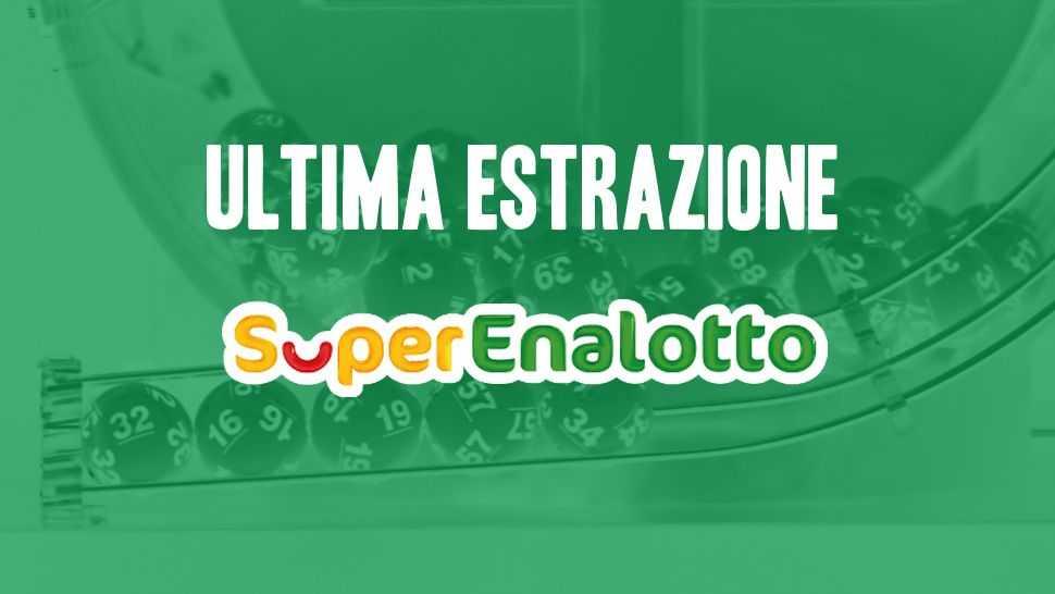 Estrazioni del superenalotto di oggi: ultima estrazione e archivio - lottomatica.it
