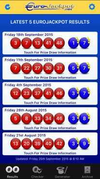 Résultats du tirage Eurojackpot | lottomanie
