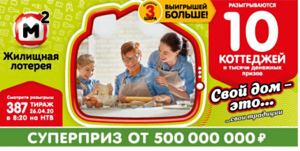 Результаты 404 тиража жилищной лотереи за 23.08.2020