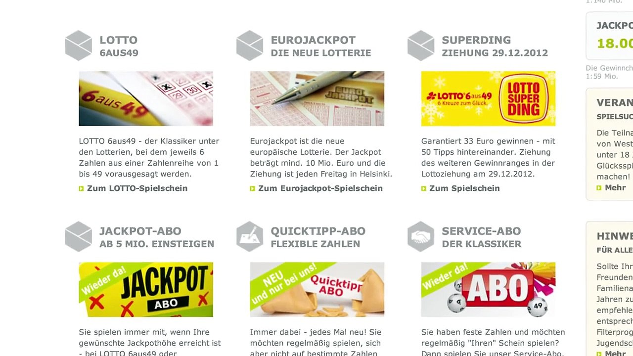 Westlotto.de competitive analysis, marketing mix and traffic
