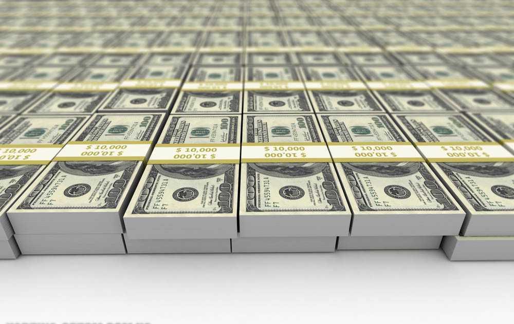 1000000000 dollars américains en roubles