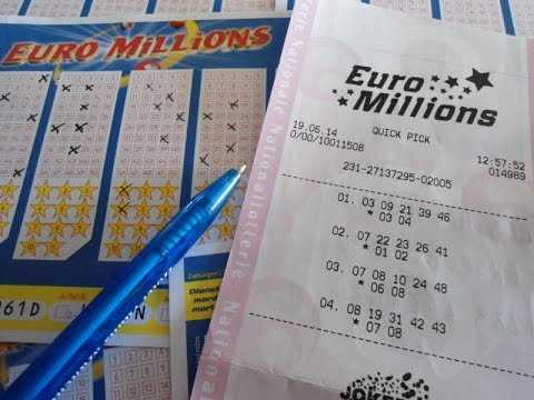 EuroMillions lotteri - hvordan man spiller fra Rusland: regler, købe en billet og modtage en præmie | lotteriverden