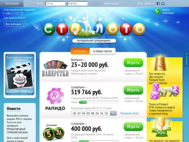 Sådan køber du en lotteri online online