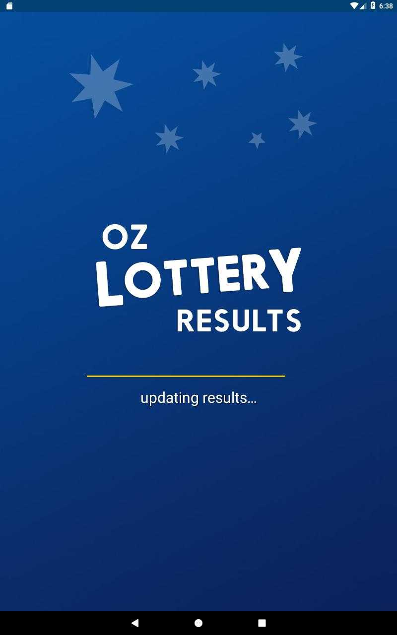 Oz lotto results
