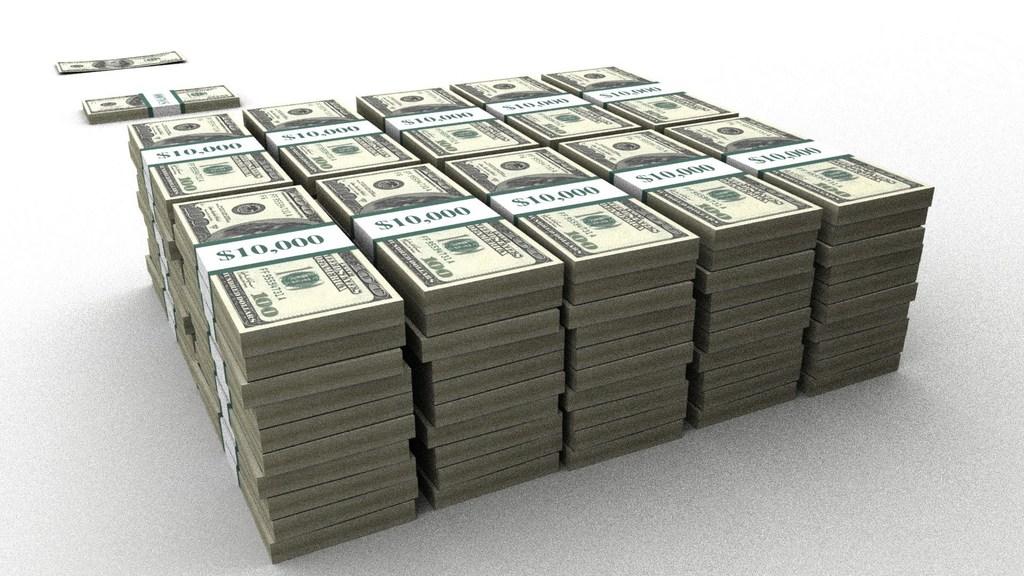 1000000 dollar (usd) i russiske rubler (gni)