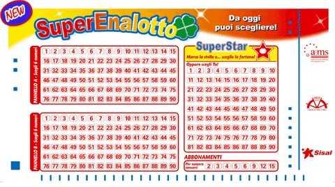 Información de superenalotto | lottomania