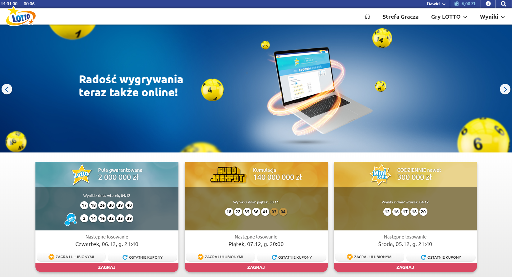 Online lotteries in the usa