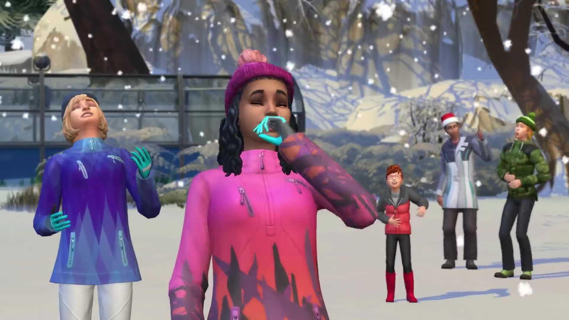 مراجعة لعبة sims 4 مغامرة الغابة