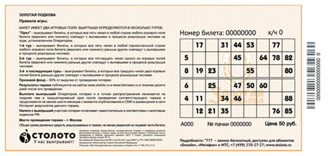 Sådan spiller du Gosloto 4 ud af 20 lotteri | lotteriinformation