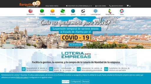 Lotterier i Spanien. Spanien på russisk - alt om livet i Spanien