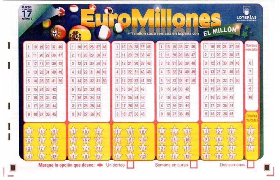 Spansk lotteri la primitiva (6 из 49 + 1 af 10)