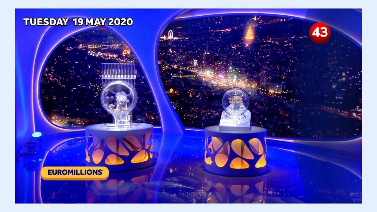 نتائج Euromillions ليوم 20 مايو 2016