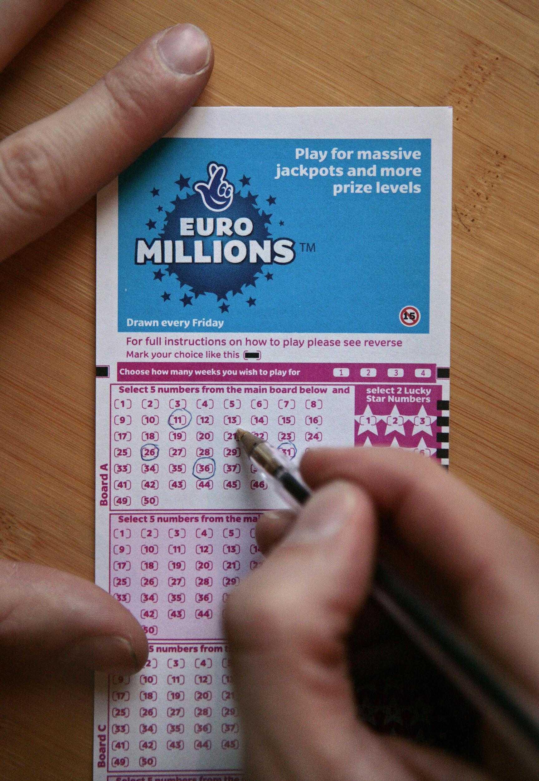 Kuinka voittaa euromiljoonia