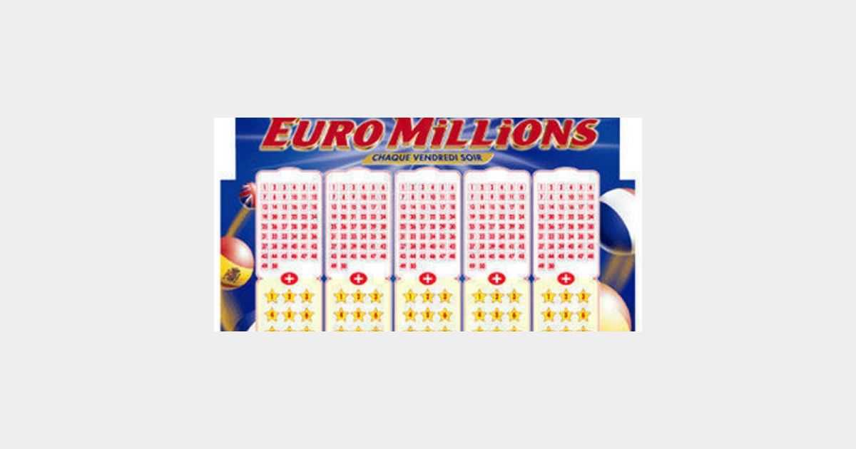 Euromillions - วาดผล