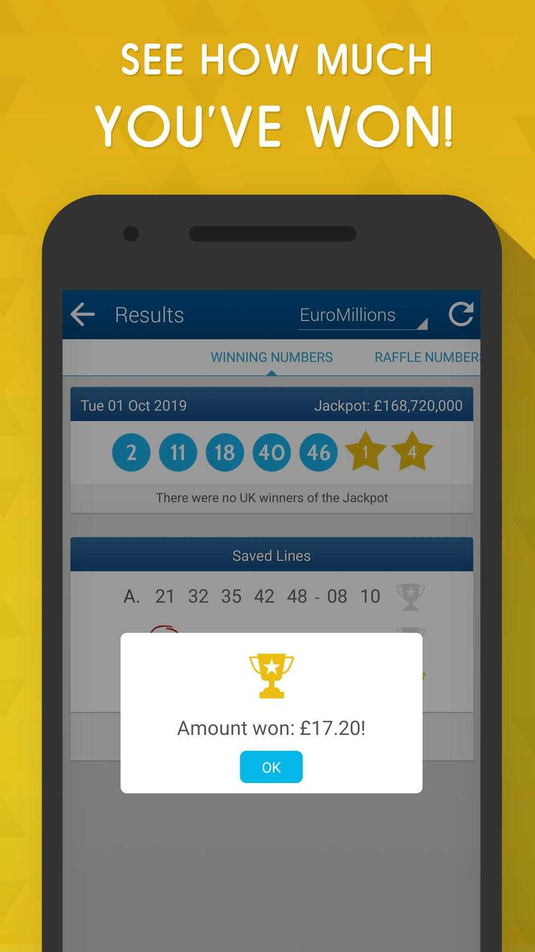 Euromillions iphone & ipad app | ios app