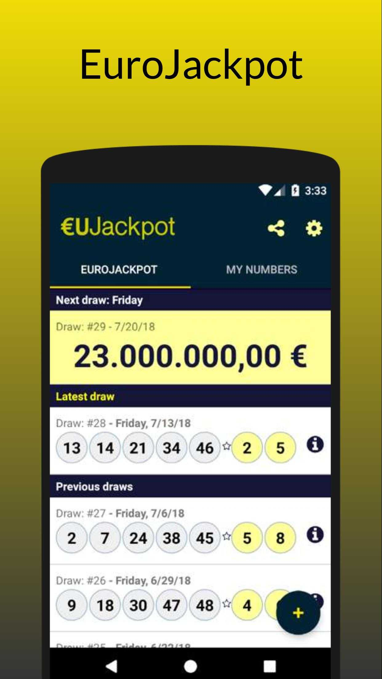 Play eurojackpot | lottomania