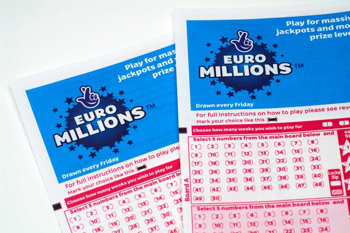 Французская лотерея euromillions and my million raffle (5 из 50 + 2 av 12)