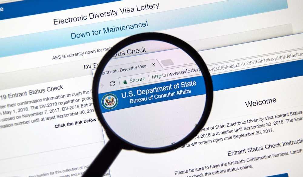 Vihreän kortin arpajaiset DV-2019 ⋆ säännöt osallistumisesta viisumin arpajaisiin