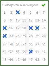 Lotto 6 aus 49: die hoffnung auf sechs richtige