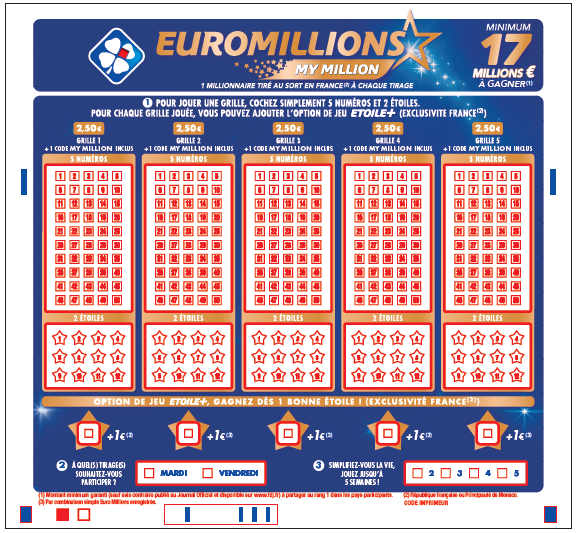 Euromillions superdraws: £115m on friday 25th september