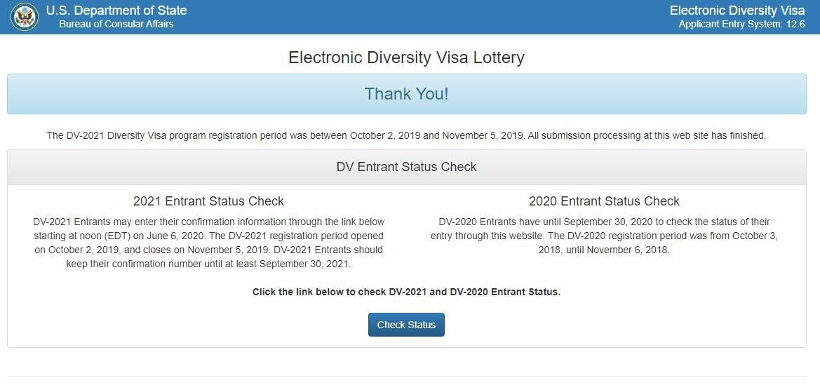 Как подать заявку на green card (грин карта) 2020
